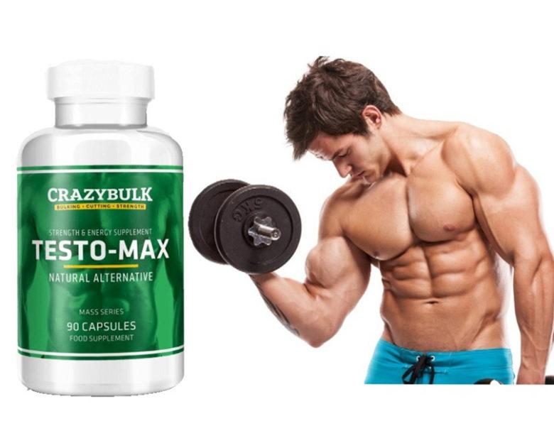 Testo-Max Обзор правовой альтернативы стероидов от Crazybulk